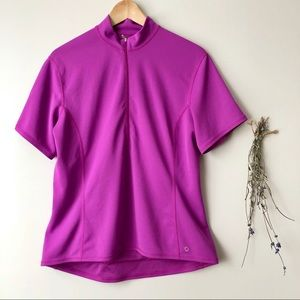 MEC | 1/2 Zip Cycling Jersey Purple